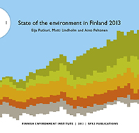State of the Environment in Finland 2013 kansi
