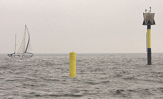 Yellow Smart Buoy located south of Helsinki 2018