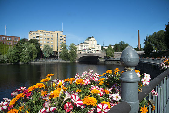 Tampere in the summer time.