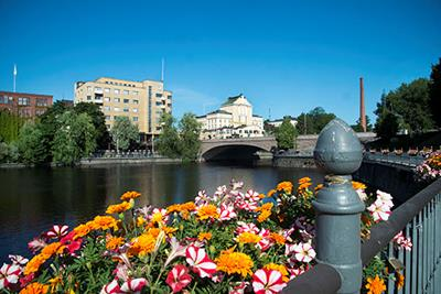 City center of Tampere