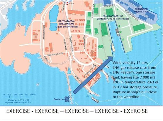 Map of exercise
